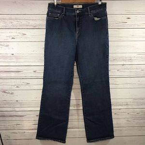 Levi's 512 Size 12 Studded Slimming Bootcut Jeans